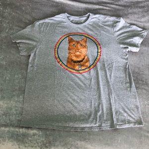 """Captain Marvel """"Goose"""" T-shirt, XL"""